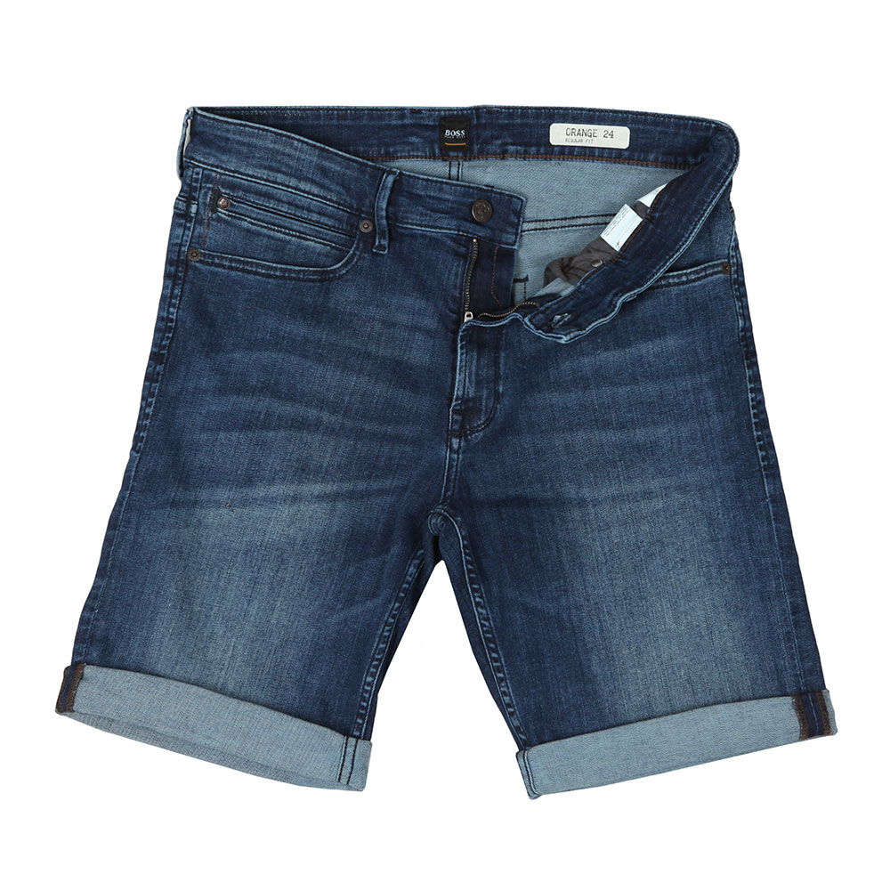 a836b705c BOSS Casual Regular Super Stretch Denim Shorts | Oxygen Clothing