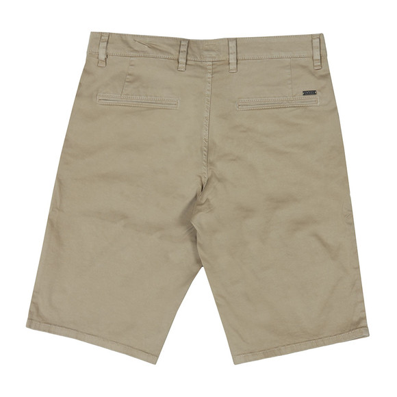BOSS Mens Brown Casual Schino Slim Short