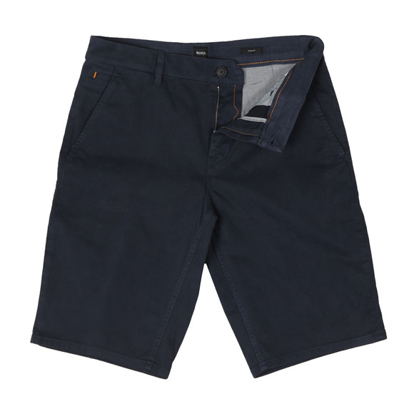 BOSS Mens Blue Casual Schino Slim Short main image