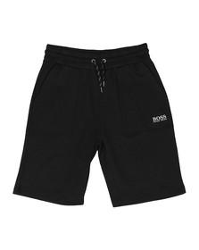Boss Mens Black Contemp Loungewear Shorts