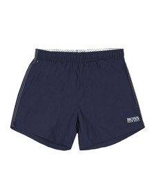 BOSS Mens Blue Perch Swim Shorts