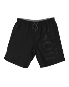 BOSS Mens Black Orca Swim Short