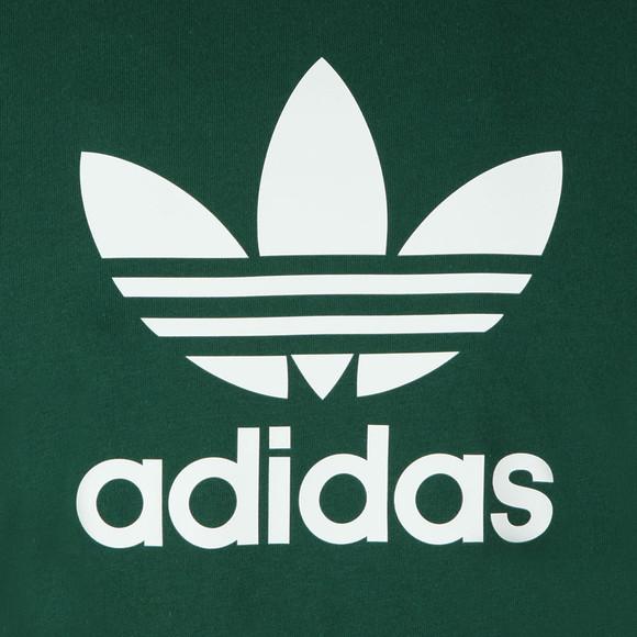 adidas Originals Mens Green Trefoil Tee main image