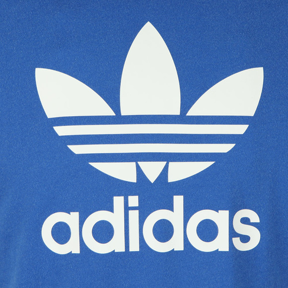 Adidas Originals Mens Blue Trefoil Tee main image