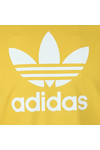 Adidas Originals Mens Yellow Trefoil Tee