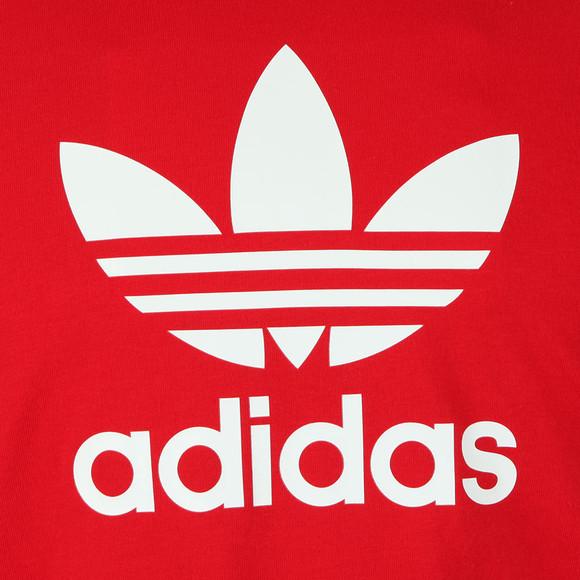 Adidas Originals Mens Red Trefoil Tee main image