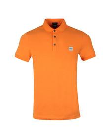 Boss Mens Orange Passenger Polo Shirt