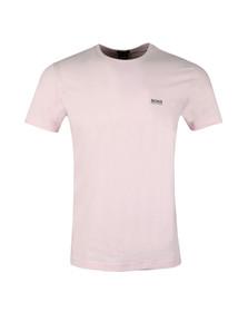 Boss Mens Pink Regular Fit Small Logo Tee