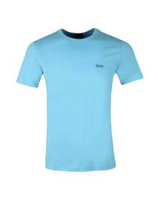 Boss Mens Blue Regular Fit Small Logo Tee
