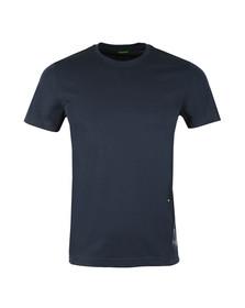 Boss Mens Blue TL-Tech T Shirt