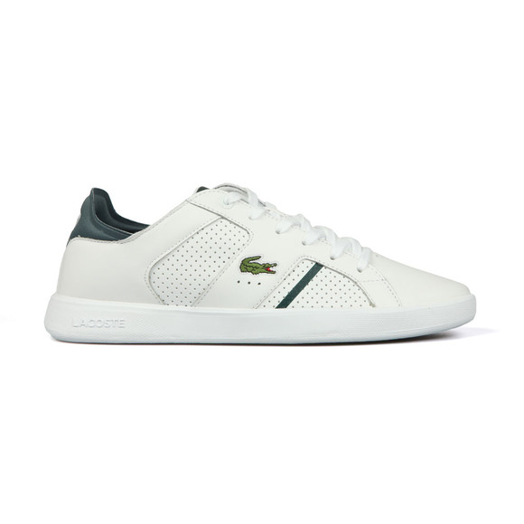 Lacoste Mens White Novas CT 118 Trainer main image