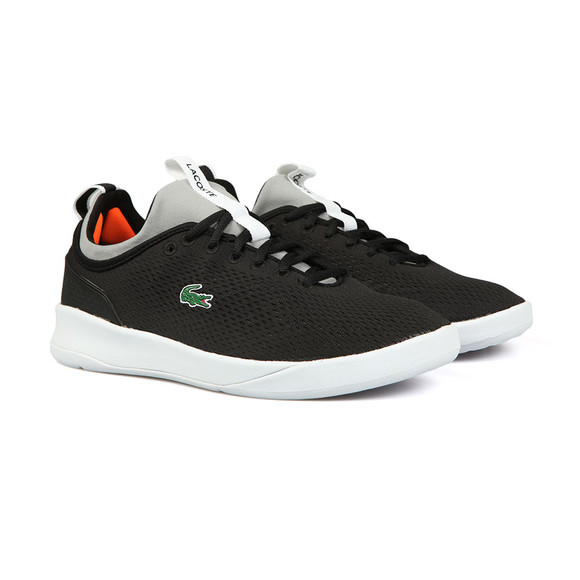 Lacoste Mens Black/grey Light Spirit 2.0 118 Trainer main image
