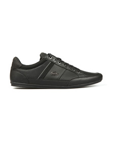 Lacoste Mens Black Chaymon 118 Leather Trainer