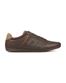 Lacoste Mens Brown Chaymon 118 Leather Trainer