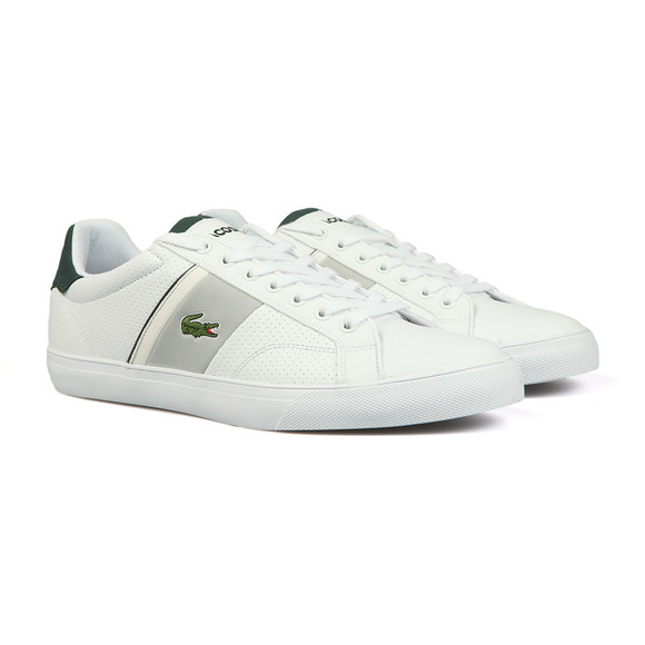 Lacoste Mens White Fairlead 118 Cam Trainer main image