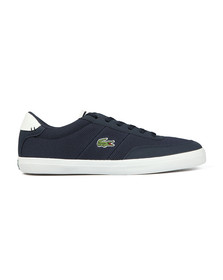 Lacoste Mens Blue Court Master 118 Trainer