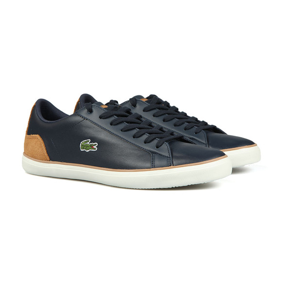 Lacoste Mens Multicoloured Lerond BL 2 Cam Trainers main image