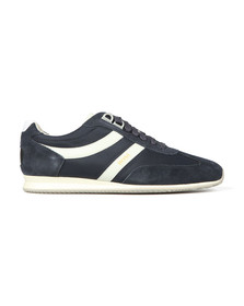 Boss Mens Blue Orland Low Trainer