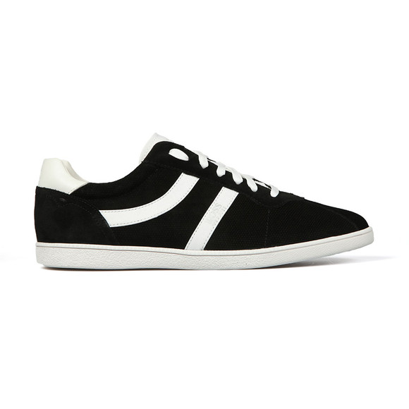 BOSS Mens Black Casual Rumba Suede Trainers