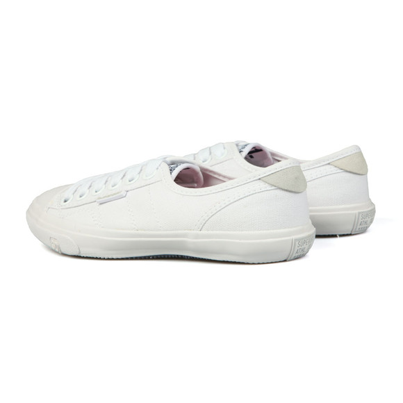 Superdry Womens White Low Pro Sneaker main image