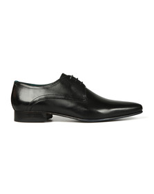 Ted Baker Mens Black Bhartli Leather Derby Shoe