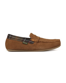 Barbour Lifestyle Mens Beige Ashworth Slipper