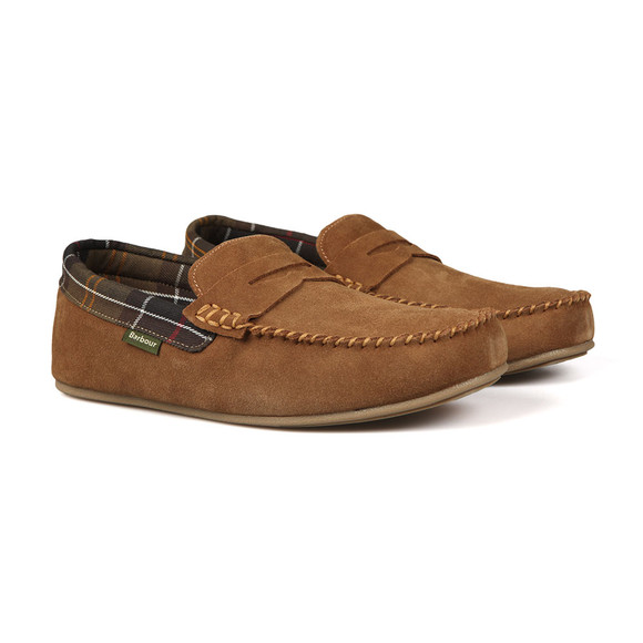 Barbour Lifestyle Mens Beige Ashworth Slipper main image