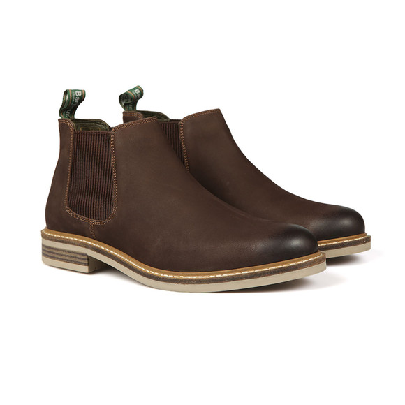 Barbour Lifestyle Mens Brown Penshaw Lightweight Chelsea Boot main image