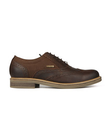 Barbour Lifestyle Mens Brown Redcar Oxford Brouge