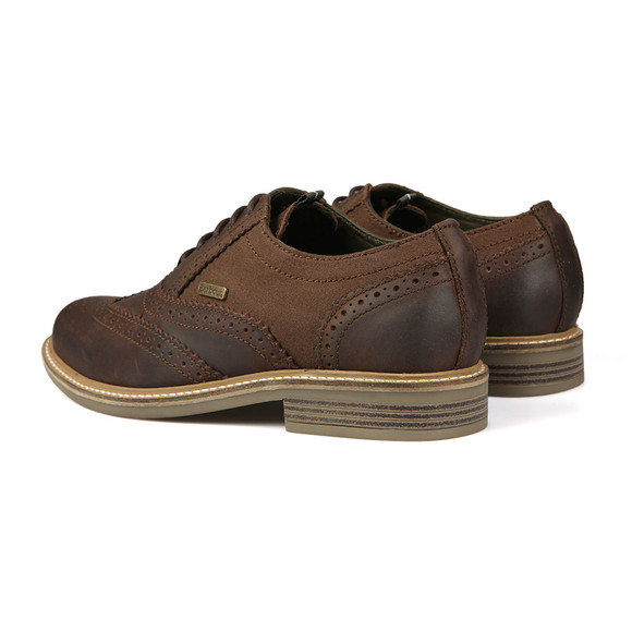 Barbour Lifestyle Mens Brown Redcar Oxford Brouge main image