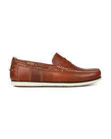 Barbour Lifestyle Mens Brown Keel Slip On Shoe