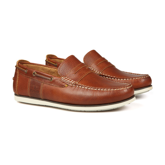 Barbour Lifestyle Mens Brown Keel Slip On Shoe main image
