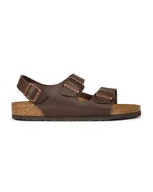 Birkenstock Mens Brown Milano Sandal