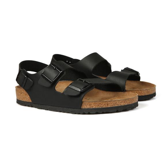Birkenstock Mens Black Milano Sandal main image