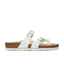 Birkenstock Womens White Mayari Sandals