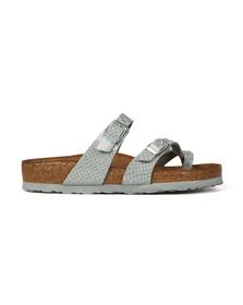 Birkenstock Womens Silver Mayari Sandals