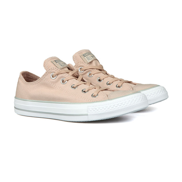 Converse Womens Beige All Star Seasonal Ox main image
