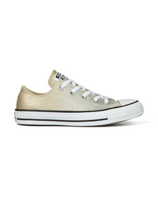 Converse Womens Gold All Star Ombre Metallic Ox