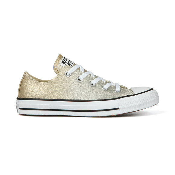 Converse Womens Gold All Star Ombre Metallic Ox main image