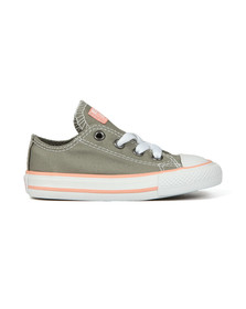 Converse Unisex Grey Kids All Star Ox