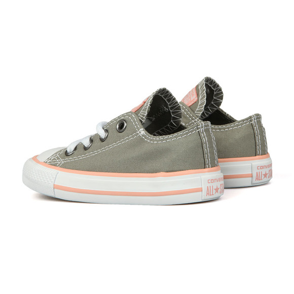Converse Unisex Grey Kids All Star Ox main image
