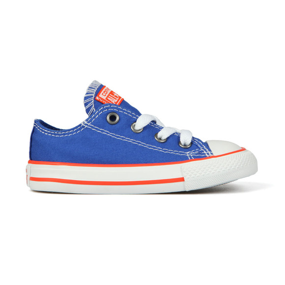 Converse Unisex Blue Kids All Star Ox main image