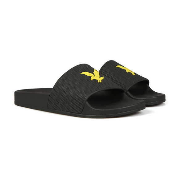 Lyle and Scott Mens Black Thomson Flip Flop main image