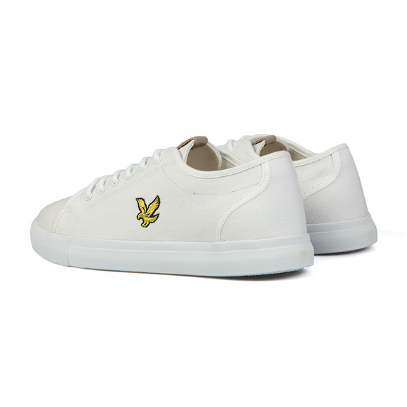 Lyle and Scott Mens White Teviot Twill Trainers main image
