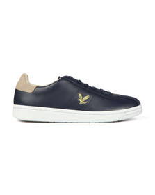 Lyle and Scott Mens Blue Cooper Trainer