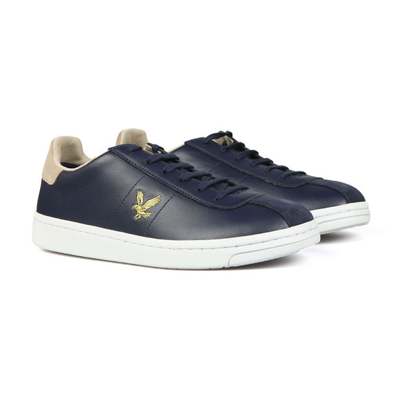 Lyle and Scott Mens Blue Cooper Trainer main image
