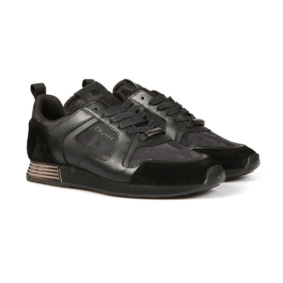 Cruyff Mens Black Lusso Runner main image
