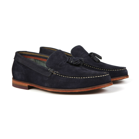 Ted Baker Mens Blue Dougge Suede Shoe main image