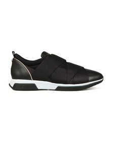 Ted Baker Womens Black Queane Leather Trainer