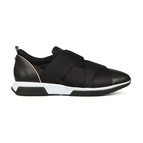 Ted Baker Womens Black Queane Leather Trainer main image